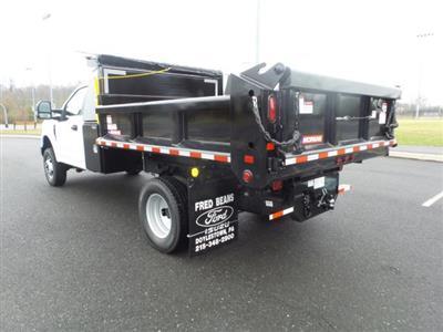 2019 F-350 Regular Cab DRW 4x4, Morgan Dump Body #FU9877 - photo 2