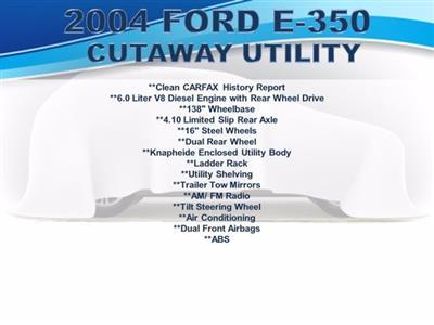 2004 Ford E-350 RWD, Knapheide KUV Service Utility Van #FU98941 - photo 7