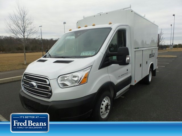 2019 Transit 350 HD DRW 4x2, Reading Aluminum CSV Service Utility Van #FU9900 - photo 1