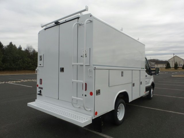 2019 Transit 350 HD DRW 4x2, Reading Aluminum CSV Service Utility Van #FU9900 - photo 2