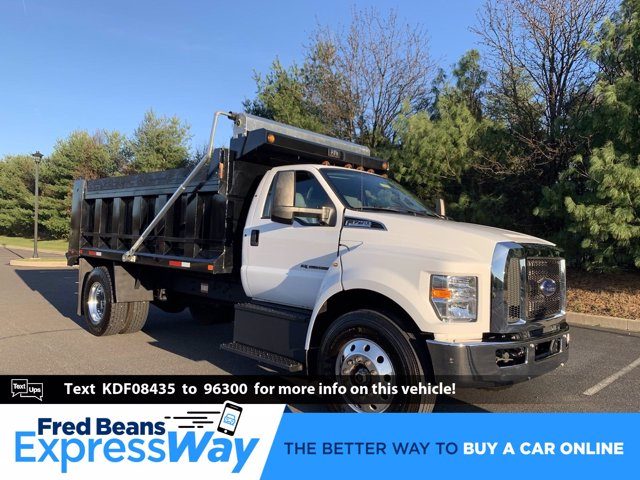2019 Ford F-750 Regular Cab DRW 4x2, Godwin Dump Body #FU99311 - photo 1