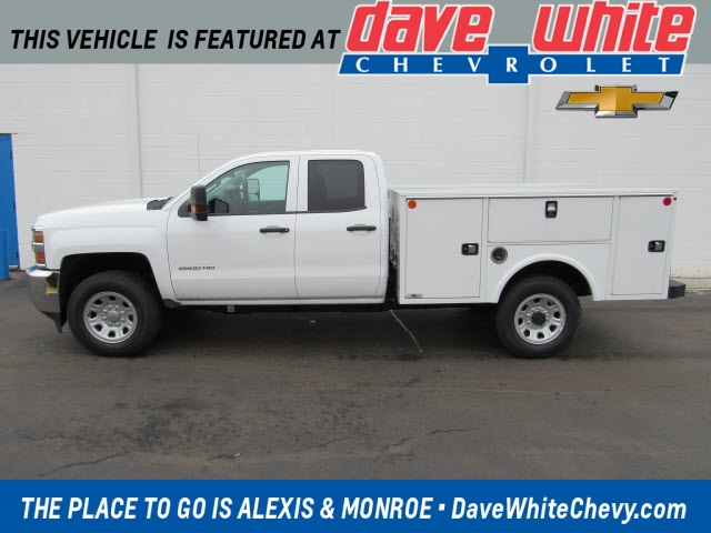 2019 Silverado 2500 Double Cab 4x4, Knapheide Service Body #191158 - photo 1