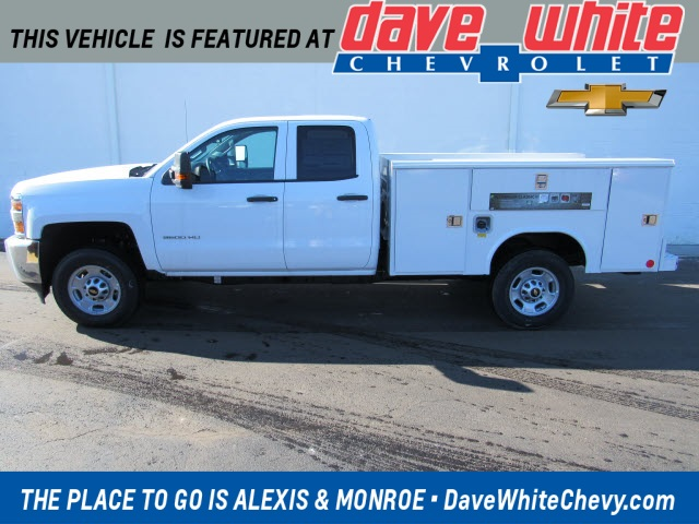 2019 Silverado 2500 Double Cab 4x2, Reading Service Body #191178 - photo 1