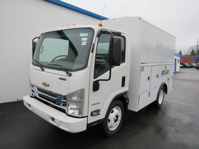 2020 LCF 4500 Regular Cab DRW 4x2,  Reading Aluminum Tool Pro Service Utility Van #201072 - photo 8