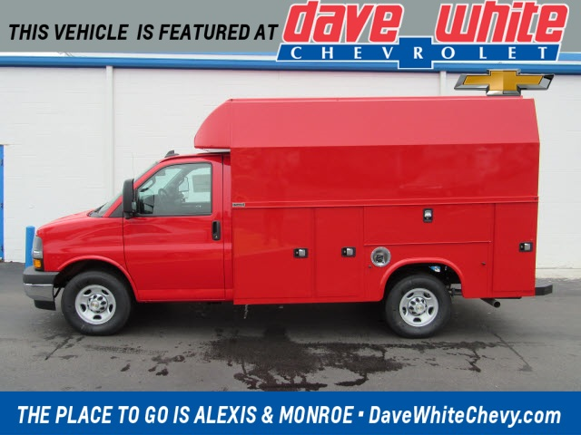 2020 Chevrolet Express 3500 4x2, Knapheide Service Utility Van #201087 - photo 1