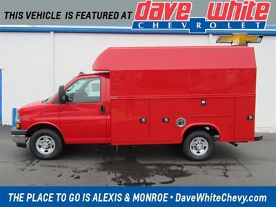 2020 Chevrolet Express 3500 4x2, Knapheide KUV Service Utility Van #201087 - photo 1