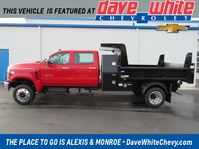 2020 Chevrolet Silverado 5500 Crew Cab DRW 4x4, Rugby Dump Body #201187 - photo 1