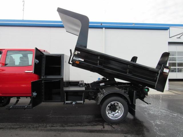 2020 Silverado 5500 Crew Cab DRW 4x4,  Rugby Z-Spec Dump Body #201187 - photo 4