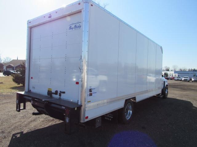 2020 Chevrolet Silverado 6500 Regular Cab DRW 4x2, Bay Bridge Sheet and Post Cutaway Van #20450 - photo 8