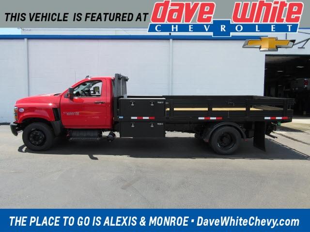 2020 Chevrolet Silverado 5500 Regular Cab DRW 4x2, Kalida Truck Equipment Platform Body #20452 - photo 1