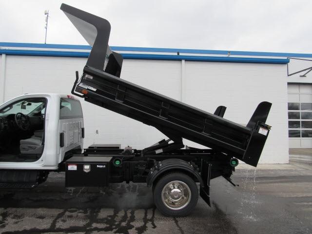 2020 Silverado 5500 Regular Cab DRW 4x4,  Rugby Z-Spec Dump Body #205461 - photo 4