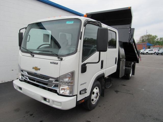 2020 LCF 3500 Crew Cab DRW 4x2,  Galion 100U Dump Body #20560 - photo 8