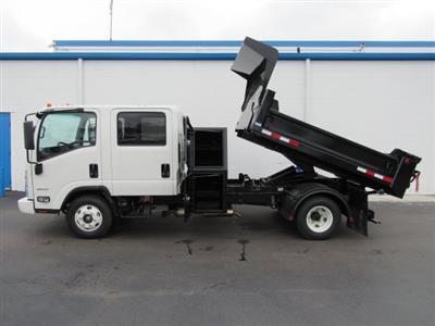 2020 LCF 3500 Crew Cab DRW 4x2,  Galion 100U Dump Body #20560 - photo 3