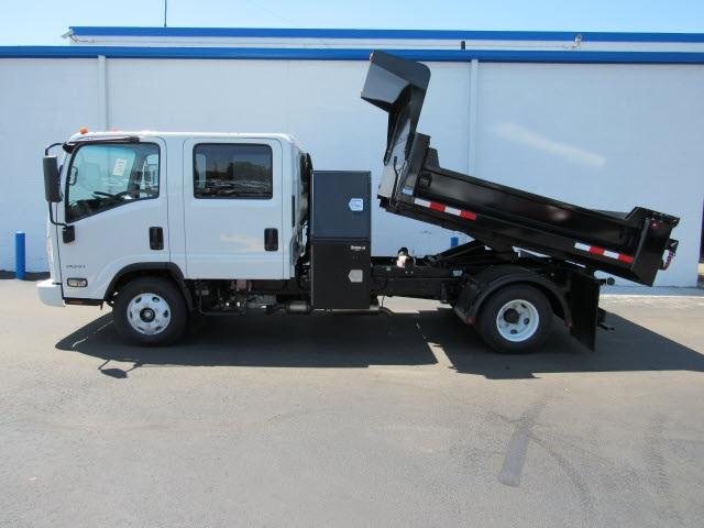 2020 LCF 3500 Crew Cab DRW 4x2,  Galion 100U Dump Body #20827 - photo 3