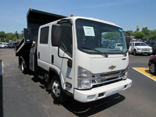 2020 LCF 3500 Crew Cab DRW 4x2,  Galion 100U Dump Body #20827 - photo 7
