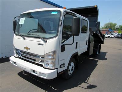 2020 LCF 3500 Crew Cab DRW 4x2,  Galion 100U Dump Body #20827 - photo 9