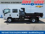 2020 LCF 3500 Crew Cab DRW 4x2,  Galion 100U Dump Body #20827 - photo 1