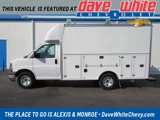 2020 Chevrolet Express 3500 4x2, Supreme Service Utility Van #20912 - photo 1