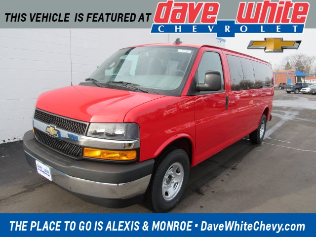 2021 Chevrolet Express 3500 4x2, Passenger Wagon #21381 - photo 1