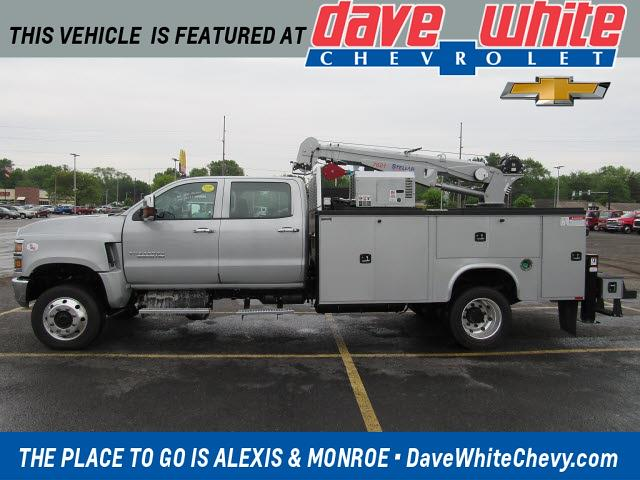 2021 Chevrolet Silverado 5500 Crew Cab DRW 4x4, Knapheide Mechanics Body #21475 - photo 1