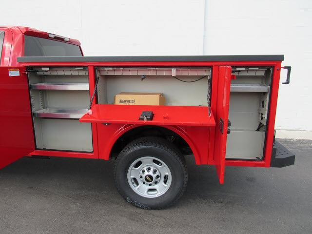 2021 Chevrolet Silverado 2500 Double Cab 4x4, Knapheide Aluminum Service Body #21792 - photo 3