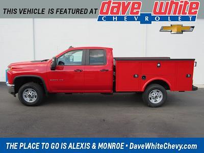 2021 Chevrolet Silverado 2500 Double Cab 4x4, Knapheide Aluminum Service Body #21792 - photo 1