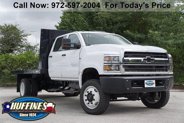 2020 Chevrolet Silverado Medium Duty Crew Cab DRW 4x4, Reading Platform Body #20CF0126 - photo 1