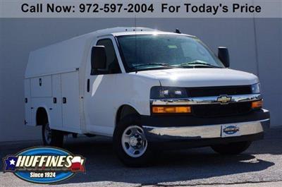 2020 Chevrolet Express 3500 RWD, Knapheide KUV Service Utility Van #20CF0138 - photo 1
