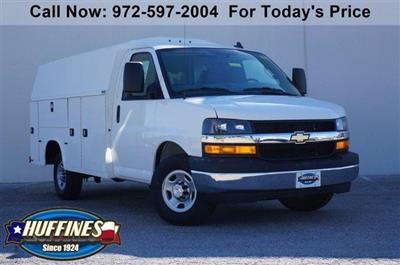 2020 Chevrolet Express 3500 RWD, Knapheide KUV Service Utility Van #20CF0139 - photo 1