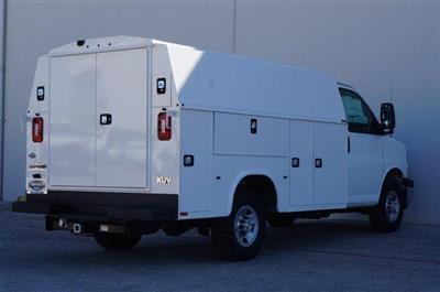 2020 Chevrolet Express 3500 RWD, Knapheide KUV Service Utility Van #20CF0139 - photo 2