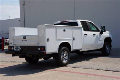 2020 Chevrolet Silverado 2500 Double Cab 4x4, Royal Service Body #20CF0184 - photo 2