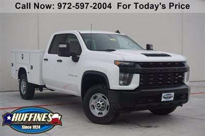 2020 Chevrolet Silverado 2500 Double Cab 4x4, Knapheide Steel Service Body #20CF0443 - photo 1