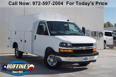 2020 Chevrolet Express 3500 4x2, Knapheide KUV Service Utility Van #20CF0475 - photo 1