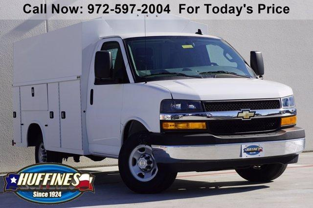 2020 Chevrolet Express 3500 4x2, Knapheide Service Utility Van #20CF0483 - photo 1