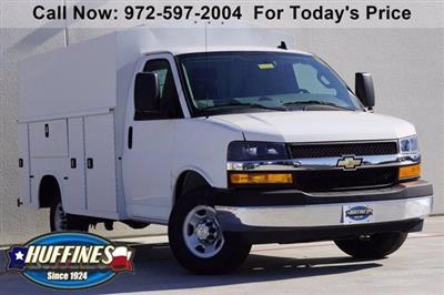 2020 Chevrolet Express 3500 4x2, Knapheide KUV Service Utility Van #20CF0483 - photo 1