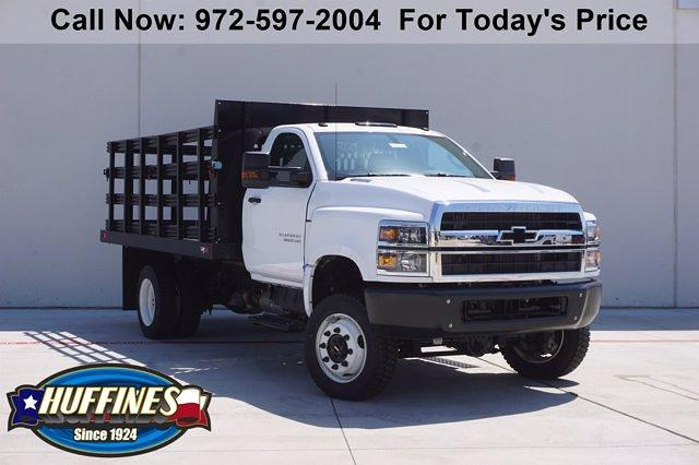 2020 Chevrolet Silverado Medium Duty Regular Cab DRW 4x4, Stake Bed #20SL0166 - photo 1