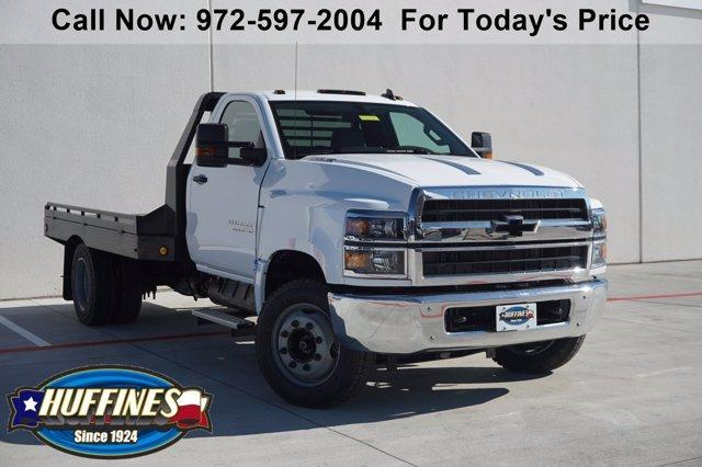 2020 Chevrolet Silverado Medium Duty Regular Cab DRW 4x2, Platform Body #20SL0468 - photo 1