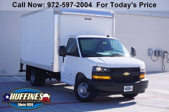 2021 Chevrolet Express 3500 4x2, Knapheide Cutaway Van #21CF0350 - photo 1