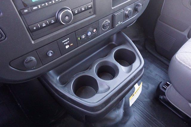 2021 Chevrolet Express 3500 DRW 4x2, Morgan Parcel Aluminum Cutaway Van #21CF0438 - photo 16