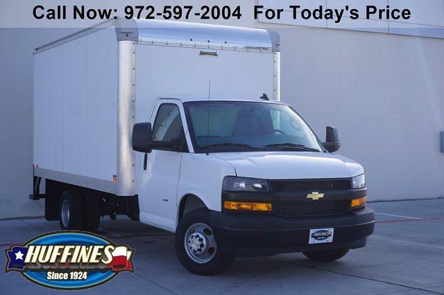 2021 Chevrolet Express 3500 4x2, Knapheide Cutaway Van #21CF0456 - photo 1