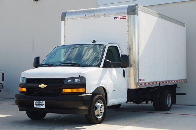 2021 Chevrolet Express 3500 DRW 4x2, Morgan Parcel Aluminum Cutaway Van #21CF0465 - photo 3