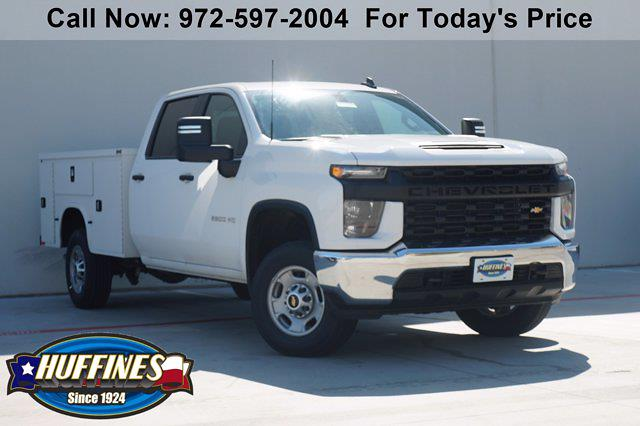 2021 Chevrolet Silverado 2500 Crew Cab 4x2, Knapheide Steel Service Body #21CF0477 - photo 1