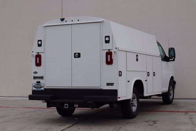 2021 Chevrolet Express 3500 4x2, Knapheide KUV Service Utility Van #21CF0695 - photo 2