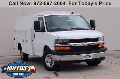 2021 Chevrolet Express 3500 4x2, Knapheide KUV Service Utility Van #21CF0695 - photo 1