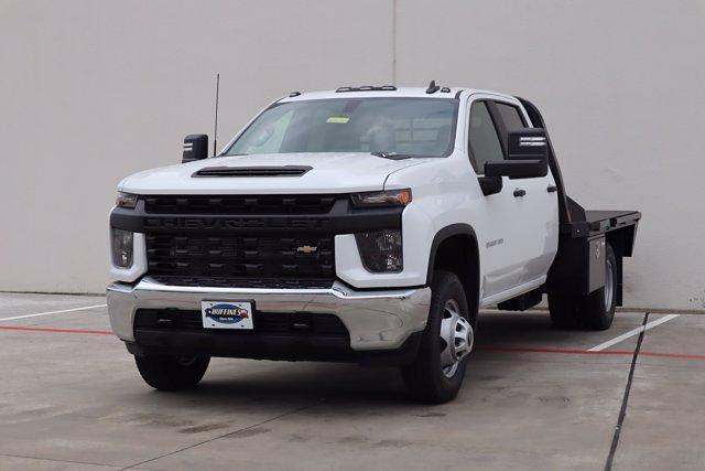2021 Chevrolet Silverado 3500 Crew Cab 4x4, CM Truck Beds RD Model Platform Body #21CF0747 - photo 3