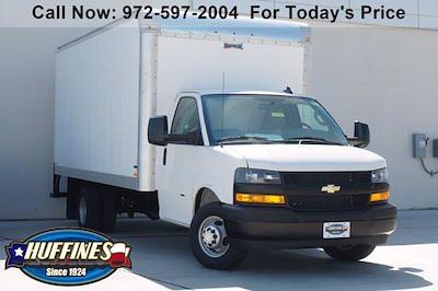 2021 Chevrolet Express 3500 DRW 4x2, Knapheide Cutaway Van #21CF0783 - photo 1
