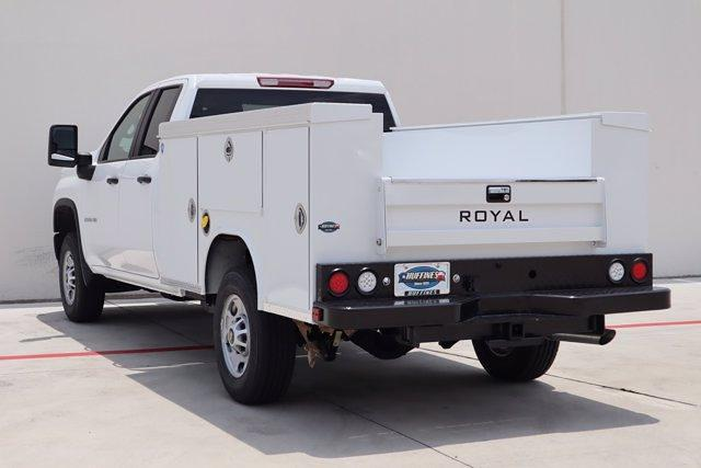 2021 Chevrolet Silverado 2500 Double Cab 4x2, Royal Truck Body Service Body #21CF0839 - photo 6