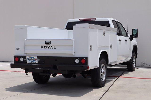2021 Chevrolet Silverado 2500 Double Cab 4x2, Royal Truck Body Service Body #21CF0839 - photo 2