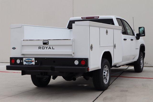2021 Chevrolet Silverado 2500 Double Cab 4x4, Royal Truck Body Service Body #21CF0842 - photo 2