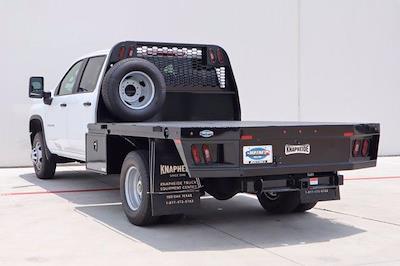 2021 Chevrolet Silverado 3500 Crew Cab 4x2, Knapheide PGNB Gooseneck Platform Body #21CF0955 - photo 4